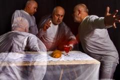 CARAVAGGIO WIELOKROTNIE - Wieczerza w Emaus 1